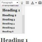 format text wordpress